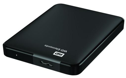 כונן קשיח Wd Elements Portable 1.5Tb Black Emea Western digital
