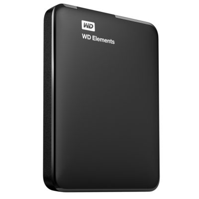כונן קשיח Wd Elements Portable 1.5Tb Black Emea Western digital